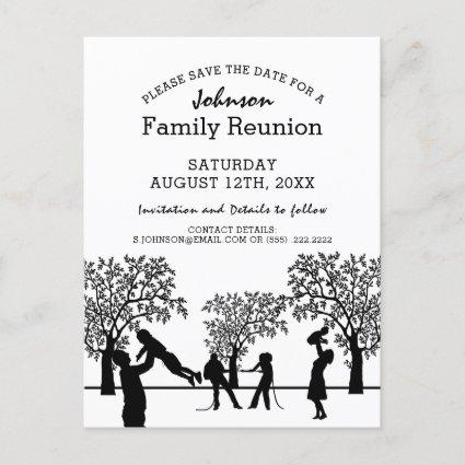 Family Tree Reunion Party | Save the Date Invitation