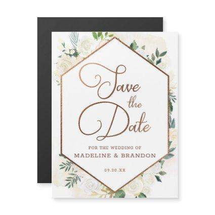 Farmhouse Fresh Rustic Country Chic Save the Date