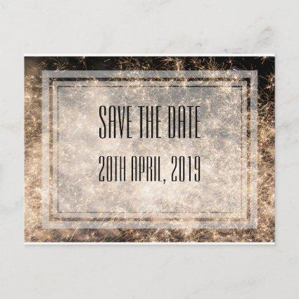 Fireworks Save the Date Cards