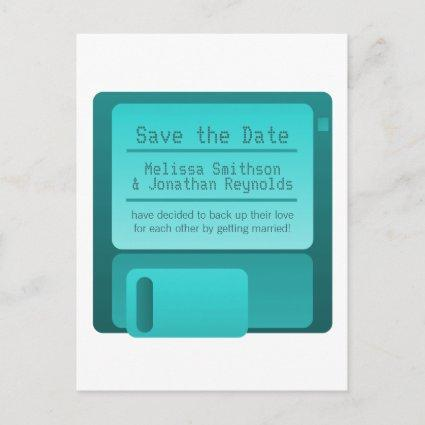 Floppy Disc , Turquoise Announcement