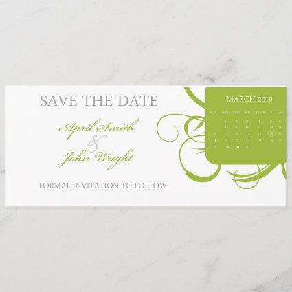 Floral Save the Date (Today's Best Winner)