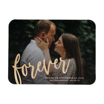 Forever Save the Date Magnet