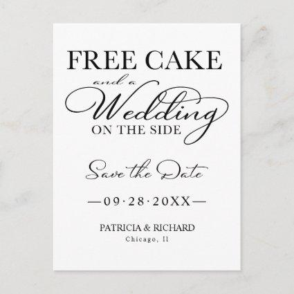 Free Cake And A Wedding On The Side
