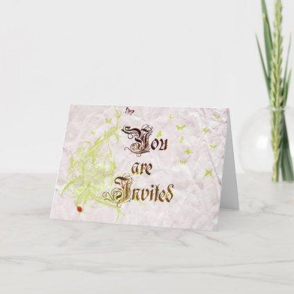 French-garden-Invite-1 Thank You Cards