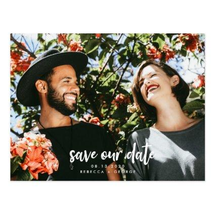 Fun Couple Summer Spring Photo Save the Dates Cards