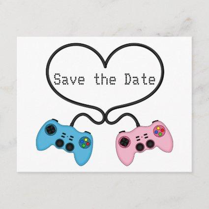 Fun Save the Date for Video Game Players