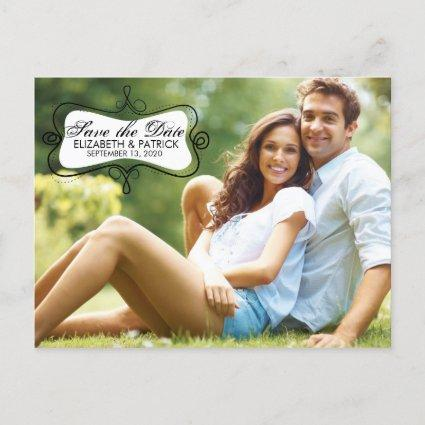 Fun & Whimsical Save The Date Photo Card Cards
