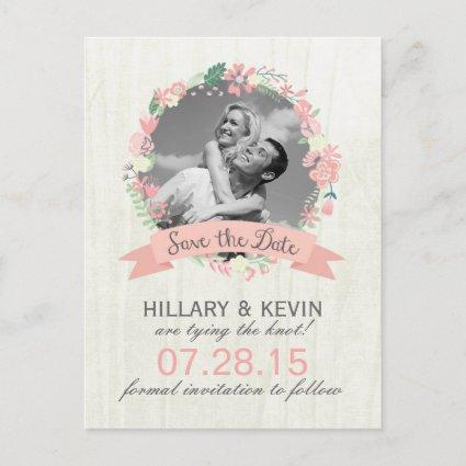 Fun Whimsical Save the Date Photo Cards