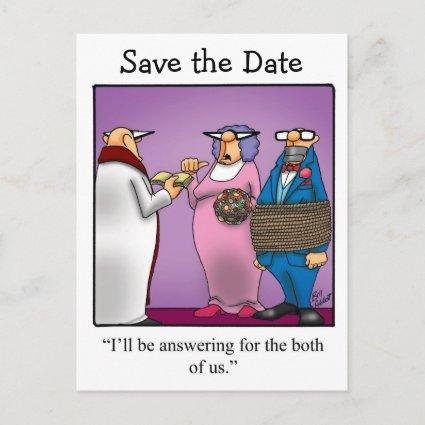 Funny Save The Date Wedding