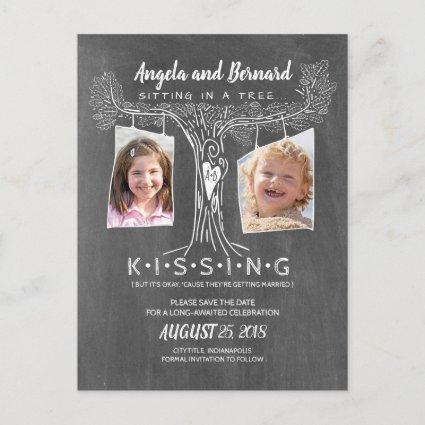 Funny School Photos | Love Oak Tree Save the Date Announcement