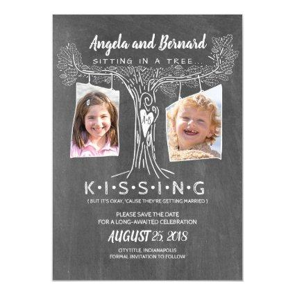 Funny School Photos | Love Oak Tree Save the Date Magnetic Invitation
