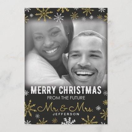 Future Mr. and Mrs. Christmas Holiday Save The Date