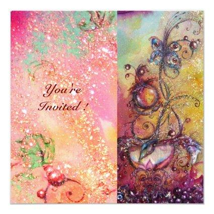 GARDEN OF THE LOST SHADOWS,MAGIC BUTTERFLY PLANT INVITATION