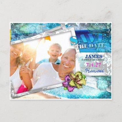 GC Save the Date Family Reunion Vintage Beach v 2 Announcement