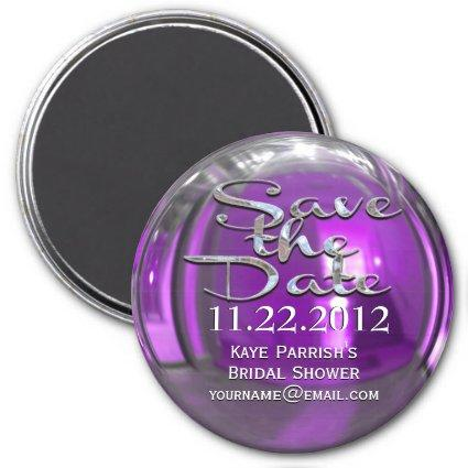 Glimmer Passion Save the Date  Magnet