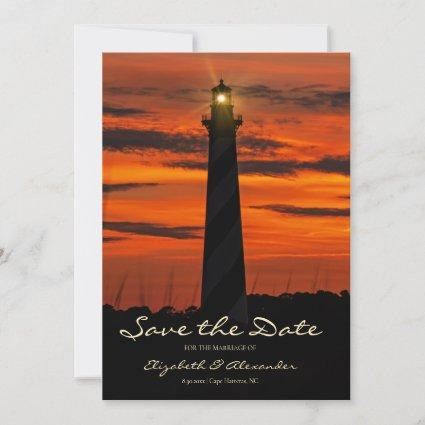 Gorgeous Cape Hatteras Lighthouse Save The Date