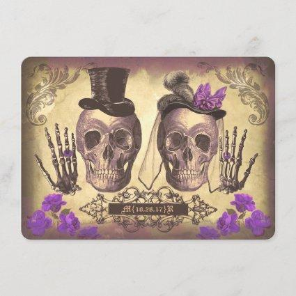 Gothic Skulls Day of The Dead