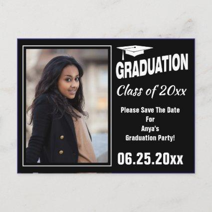 Graduation Annoucement Photo Save The Date Announcements Cards