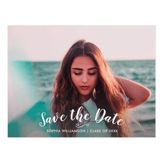Graduation Party Invitation Save the Date Photo