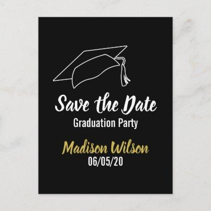 Graduation Party Save the Date Announcement
