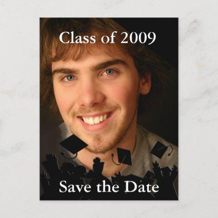 Graduation Photo Invitation-Change to Current Year Announcements Cards