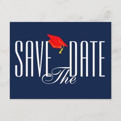 Graduation Save the Date Cards Invitation