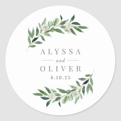 Greenery Wedding Stickers
