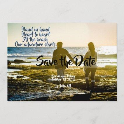 Hand and Hand Save The Date