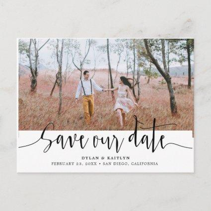 Hand Lettering | Wedding Save Our Date