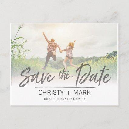 Handwritten Faded Image | Save the Date Cards