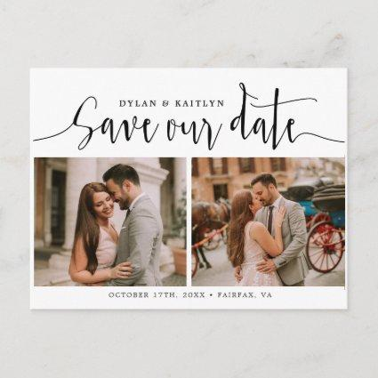 Handwritten  | Wedding Save Our Date