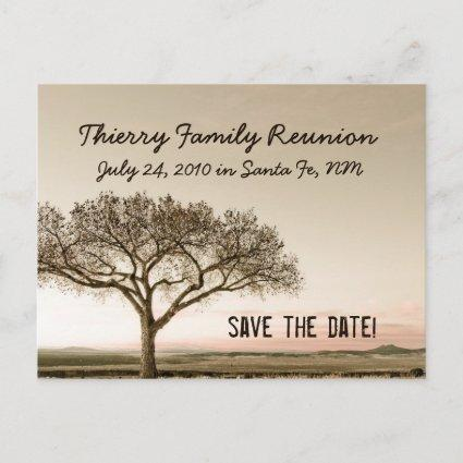 High Country Save the Date Announcements Cards