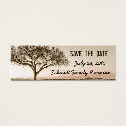 High Country Save the Date Bookmark Cards
