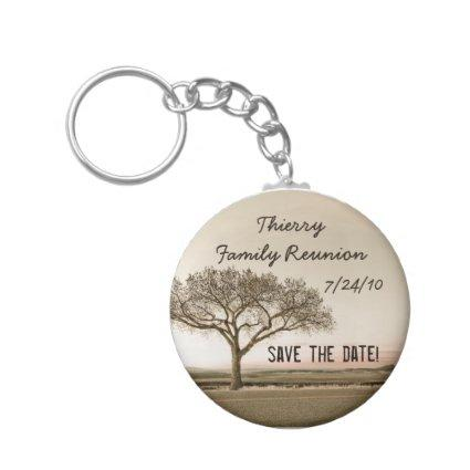 High Country Save the Date Keychain