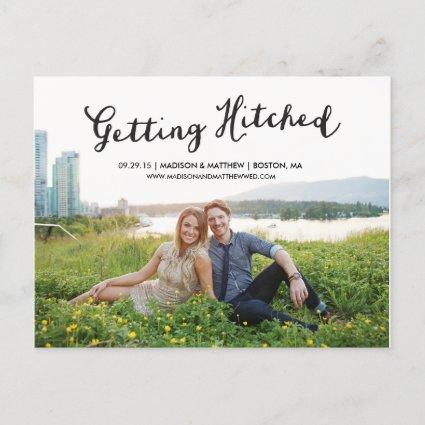 Hitched | Save the Date Cards