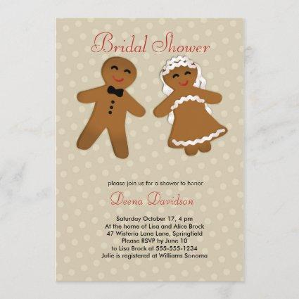 Holiday Bridal Shower Invitation or Save the Date