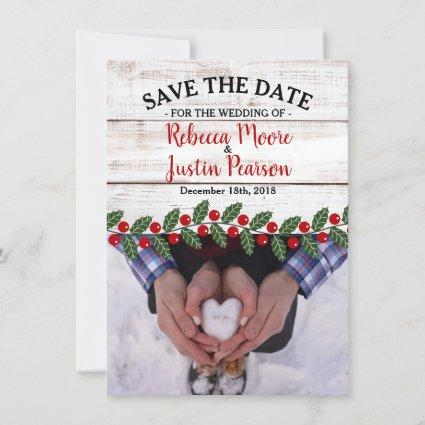 Holiday Charm II Winter/Christmas Save The Date