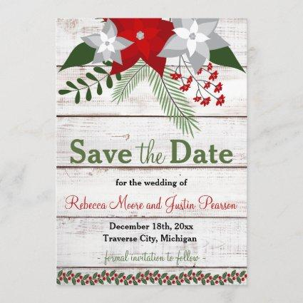 Holiday Charm - Winter/Christmas Save The Date
