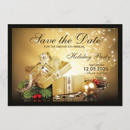 Holiday Party Invitation Save The Date