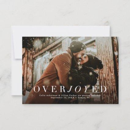 Holiday save the date photo Cards