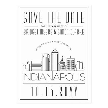 Indianapolis Wedding Skyline