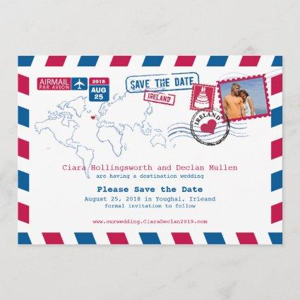 Irleand Airmail | Save the Date