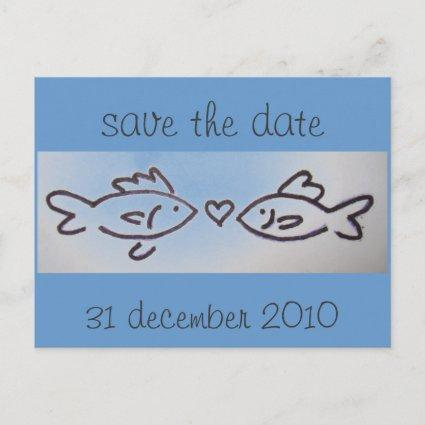 kissfish photo, save the date, 31 december 2010 announcement