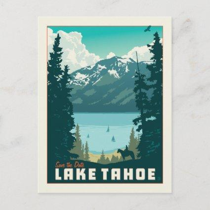 Lake Tahoe   Save the Date Announcement