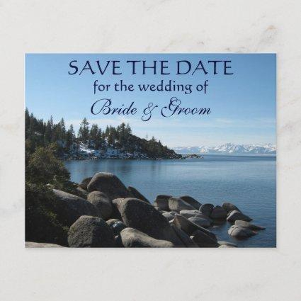 Lake Tahoe Save-the-Date Save The Date