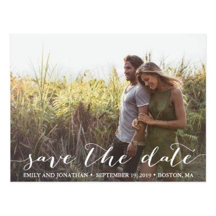 Landscape Photo Wedding Save The Date Cards