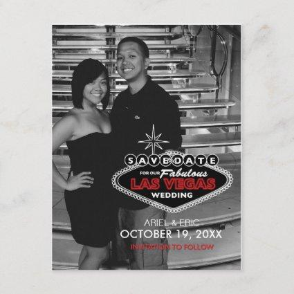 Las Vegas Save-the-Date Custom