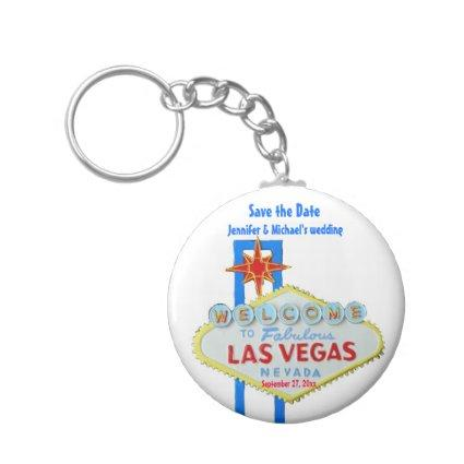 Las Vegas  Customized Occasion Keychain