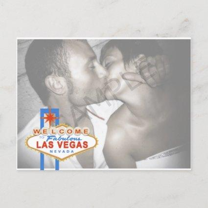 Las Vegas Sign Save the Date Cards