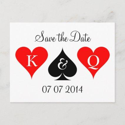 Las Vegas wedding save the date